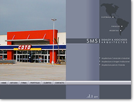 pagina web flash arquitectos
